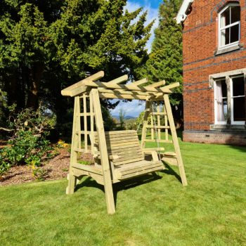 Moorvalley 2 Seater Full Trellis Swing Seat