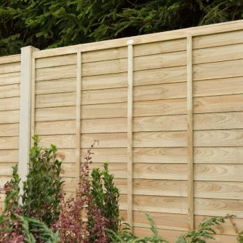 Hartwood 6' x 6' Pressure Treated Contemporary Lap Fence Panel