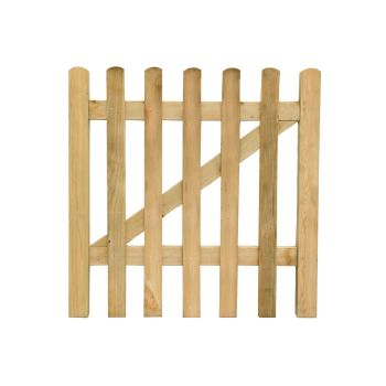 Hartwood 3' x 3' Pressure Treated Picket Gate