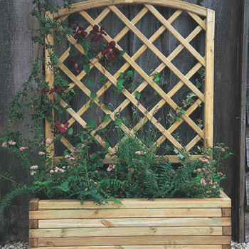 Hartwood Mersey Planter With Trellis