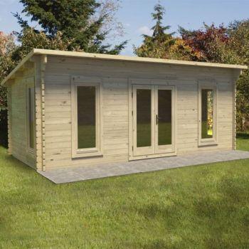 Hartwood 6m x 3m Aston Log Cabin