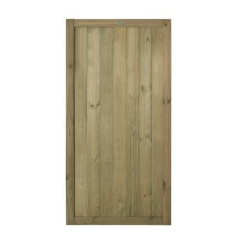 Hartwood 6' x 3' Pressure Treated Vertical Tongue & Groove Gate