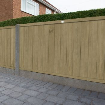 Hartwood 3' x 6' Vertical Tongue & Groove Pressure Treated Fence Panel