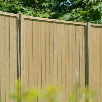 Hartwood 5' x 6' Vertical Tongue & Groove Pressure Treated Fence Panel