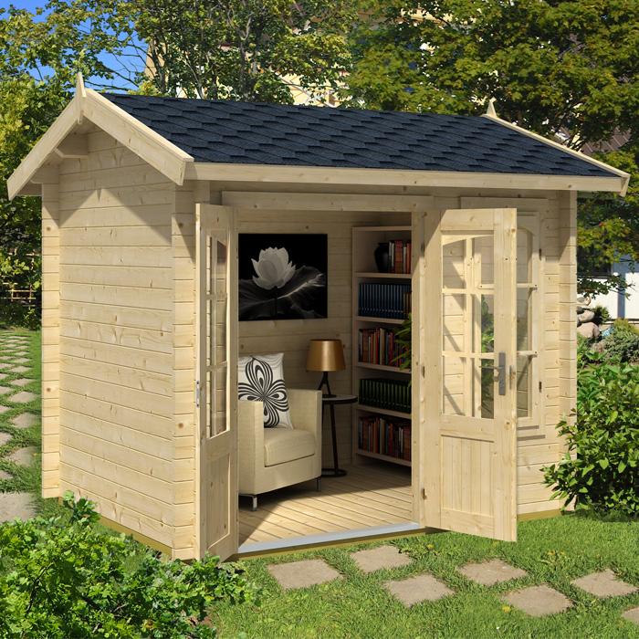 Image of Greenway 2.5m x 2m Mini Elizabeth Log Cabin