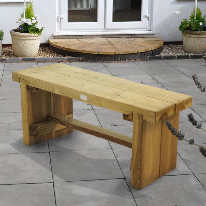 Image of Hartwood 1.2m Double Sleeper Bench