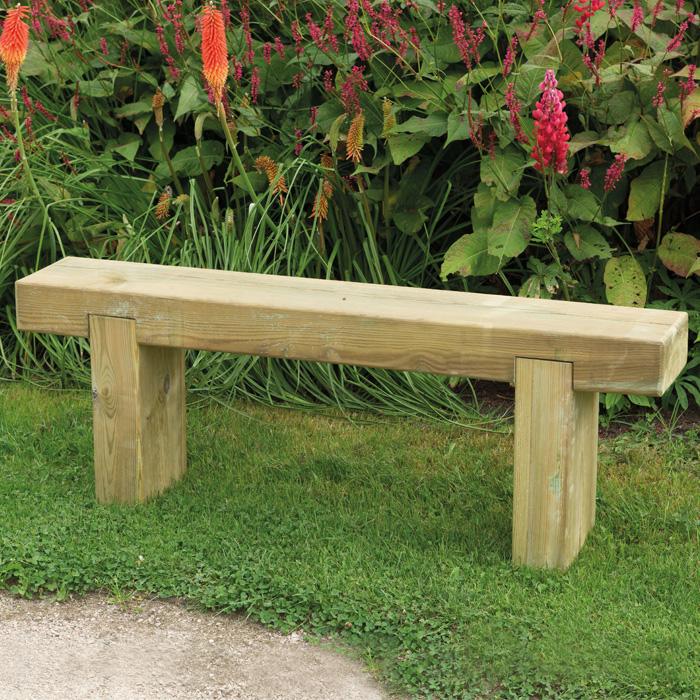 Image of Hartwood 1.2m Sleeper Bench