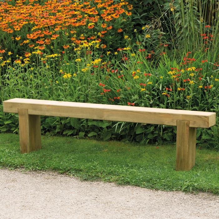 Image of Hartwood 1.8m Sleeper Bench