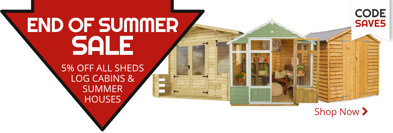 End of Summer 21 - Save 5%