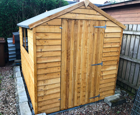 Adley 6' x 8' Overlap Apex Shed
