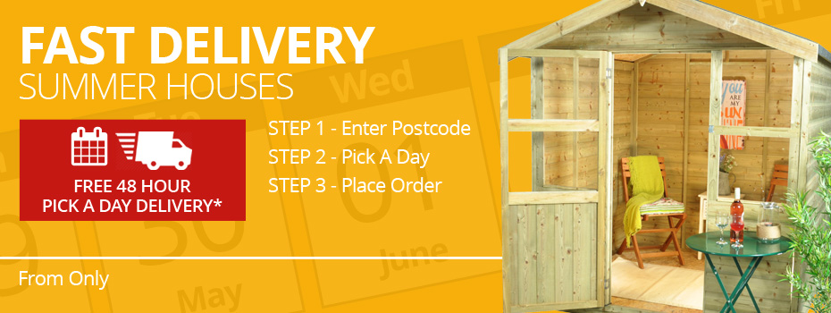 Fast Delivery Summer Houses