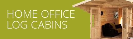 Home Office Log Cabin