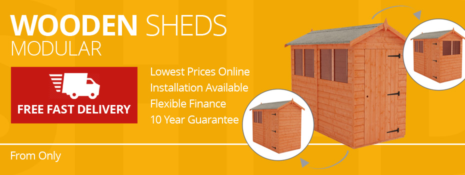 Modular Wooden Sheds
