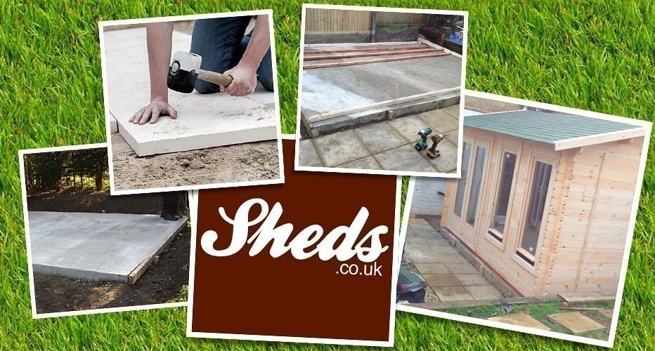 Sheds.co.uk Base Preperation