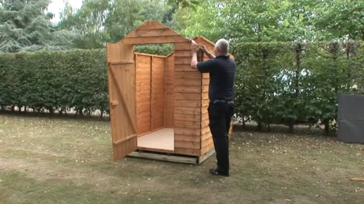 Play How To Build A Shed Onto A Wooden Shed Base Video