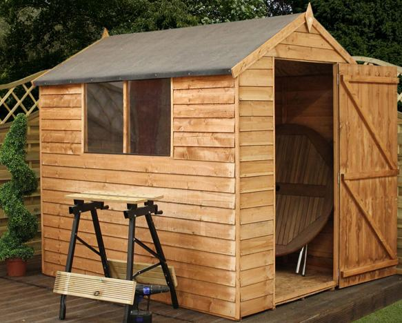 Step by Step Video on How to Build a 6' x 4' Garden Shed