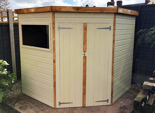 What Colour Should I Paint My Garden Shed