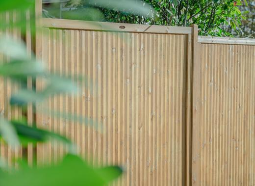 Noise-Reducing Fence Panels from Hartwood