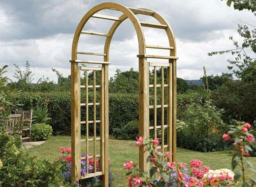 Wooden Arches for Gardens