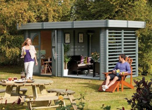 Top 5 Contemporary Garden Buildings