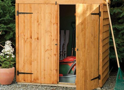 Lawnmower Storage Ideas