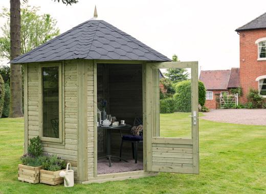 Hexagonal / Octagonal Garden Buildings Available Online