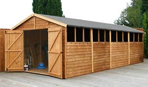 wooden workshop