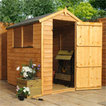 Avon 4' x 6' Overlap Apex Shed