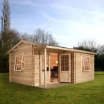 Greenacre Home Office Executive Plus Log Cabin