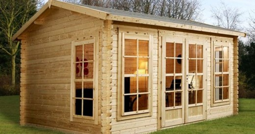 log cabins are attractive garden structures that can add a great deal to your home and the really great news is that having one installed neednu0027t be a time