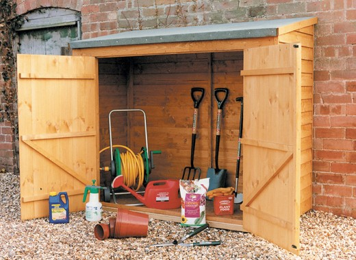 Small garden storage ideas from - Backyard sheds plans ideas ...