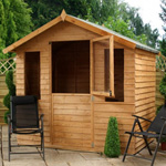 avon 7' x 5' henley stable door summer house
