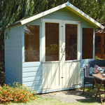 avon 7' x 5' traditional summer house