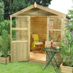 hartwood 6' x 6' charlton summer house