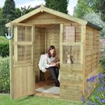 hartwood 6' x 6' sutton summer house