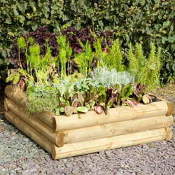 Hartwood Half Sleeper Raised Bed