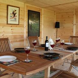 avon 6m x 4m insulated garden rooms
