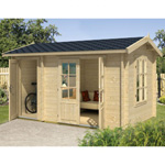 greenway 3.9m x 2.4 alice log cabin