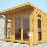 avon 3m x 4m insulated garden room