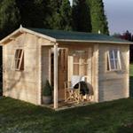 hartwood 3.6 x 3.6 elmley log cabin