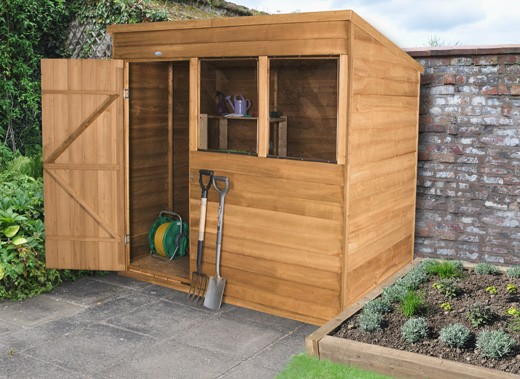 sheds for allotments