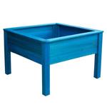 Hartwood Blue Mini Square Planter Table