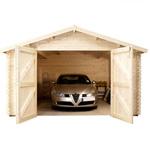 Avon 4.2m x 5.7m devonshire wooden garage