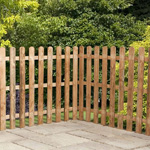 Avon 3' x 6' Palisade Rounded Top Fence Panel