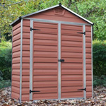6' x 3' Palram Skylight Plastic Amber Shed