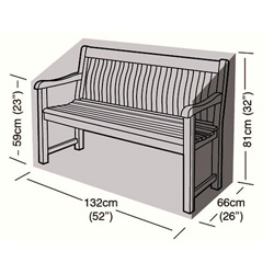 Protector - 2 Seater Bench Seat Cover - 132cm