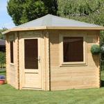 Avon 3m x 3m Somerset Corner Log Cabin