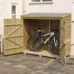Rowlinson 6' x 3' Double Door Overlap Bike Shed