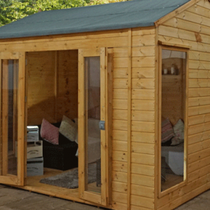 Garden Buildings with Bi-Folding Doors