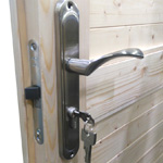 Log Cabin Ironmongery Upgrade